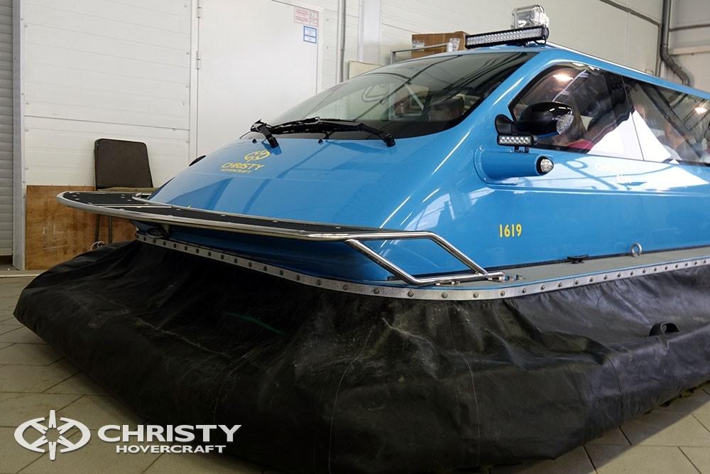 Скоростной многоцелевой амфибийный катер на воздушной подушке модели Christy 9205 | фото №7