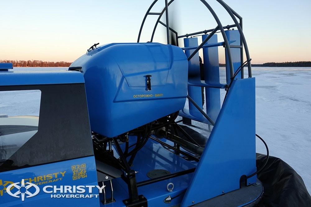 Производство, продажа, сервисное обслуживание амфибий на воздушной подушке проекта Christy 9205 | фото №6