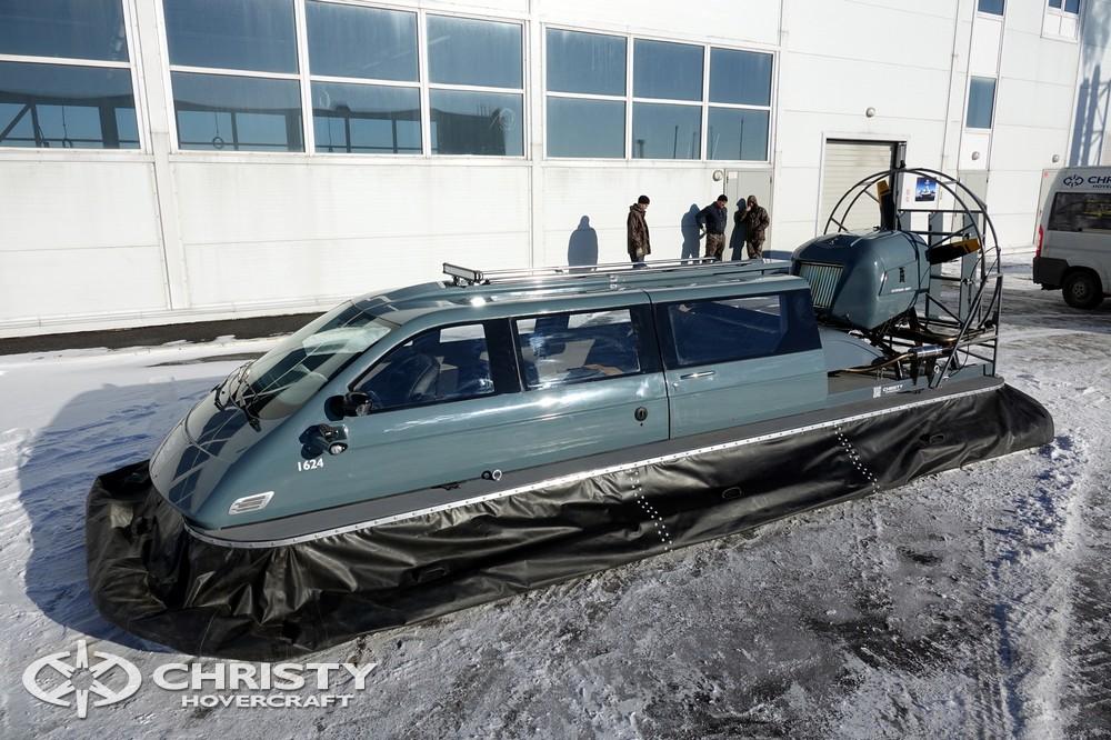 Команда Сhristyhovercraft представляет вашему вниманию новую модель амфибии на воздушной подушке | фото №1