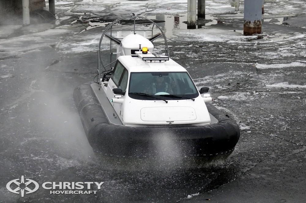 Движение вездехода на воздушной подушке Christy 5143 в стесненных условиях | фото №3