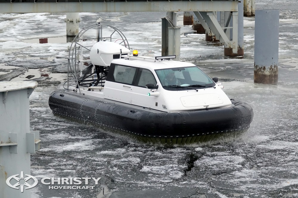 Тест-драйв судна на воздушной подушке Christy 5143 FC | фото №15