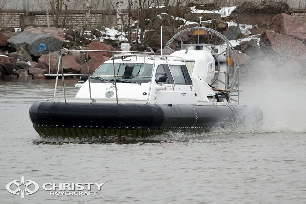 Расширение модельного ряда: судно на воздушной подушке Christy 9205 FC Fishing Edition | фото №22