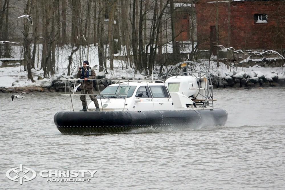 Амфибия на воздушной подушке Christy 9205 FC Fishing Edition | фото №26