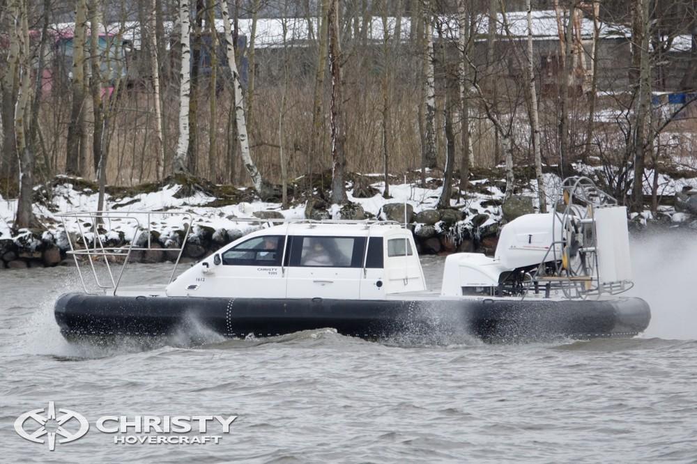 Современный дизайн водного транспорта на воздушной подушке Christy-9205-fishing-edition вызывает восхищение | фото №13