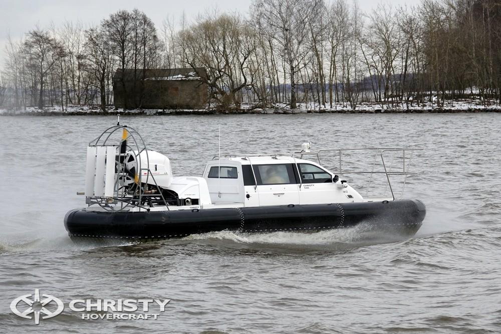 Вездеход на воздушной подушке Christy-9205-fishing-edition незаменимое транспортное средство для рыбаков и охотников | фото №18