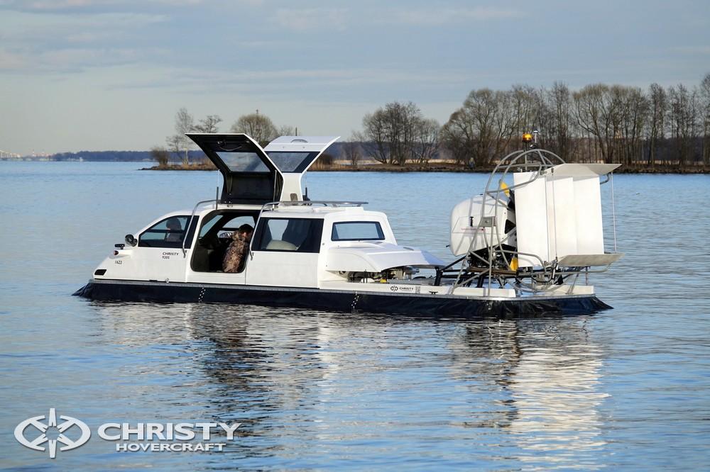 В Новой Зеландии амфибийное судно на воздушной подушке Christy-9205 будет использоваться в рекреационном кластере для туристически-экскурсионных целей | фото №5