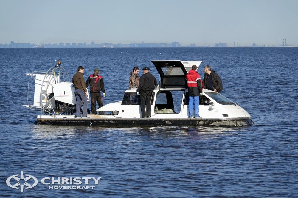 Туристическая индустрия получит новое судно на воздушной подушке Christy-9205