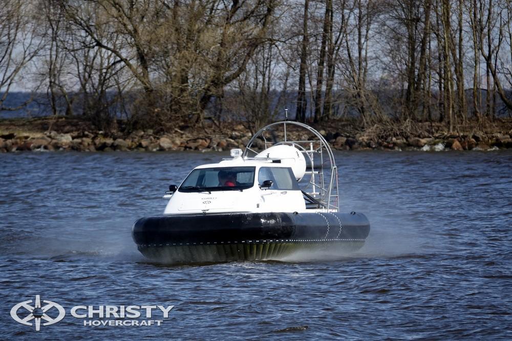 Лодка на воздушной подушке Christy 5143. Успешные испытания | фото №2