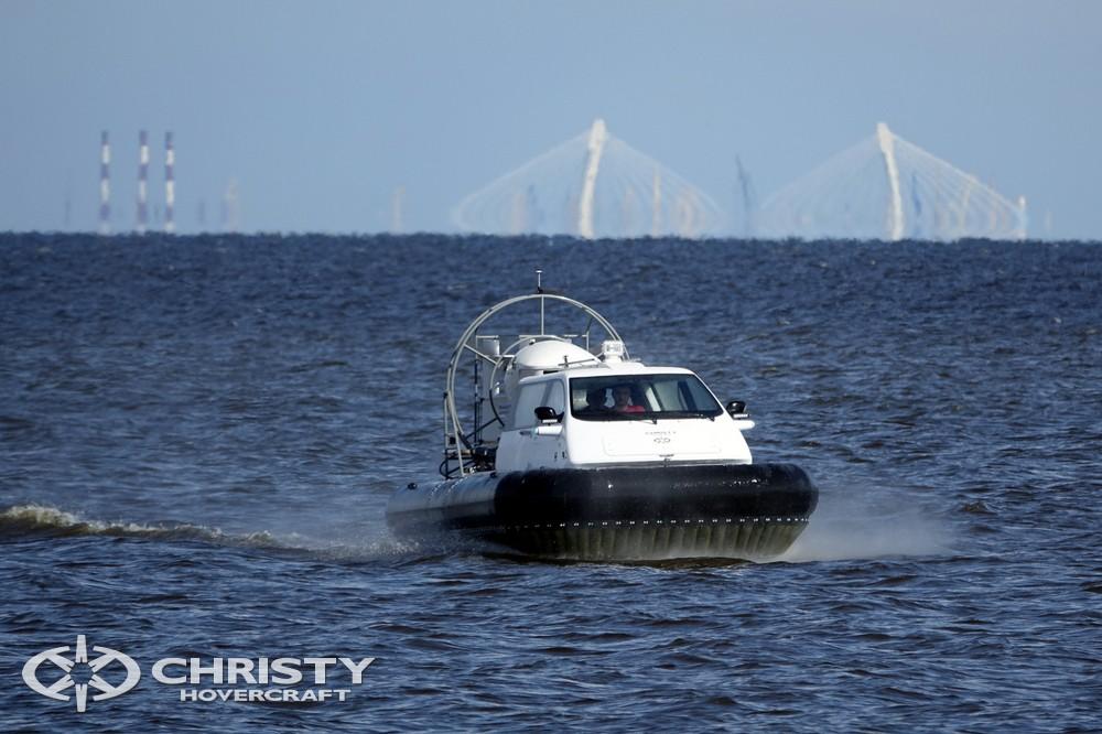 Вездеход на воздушной подушке Christy 5143. Успешные испытания | фото №4