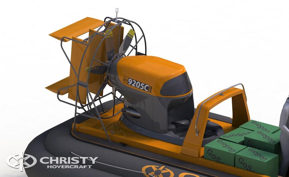 Суда на воздушной подушке Christy-9205 Cargo позволяют успешно справляться с последствиями техногенных катастроф | фото №5