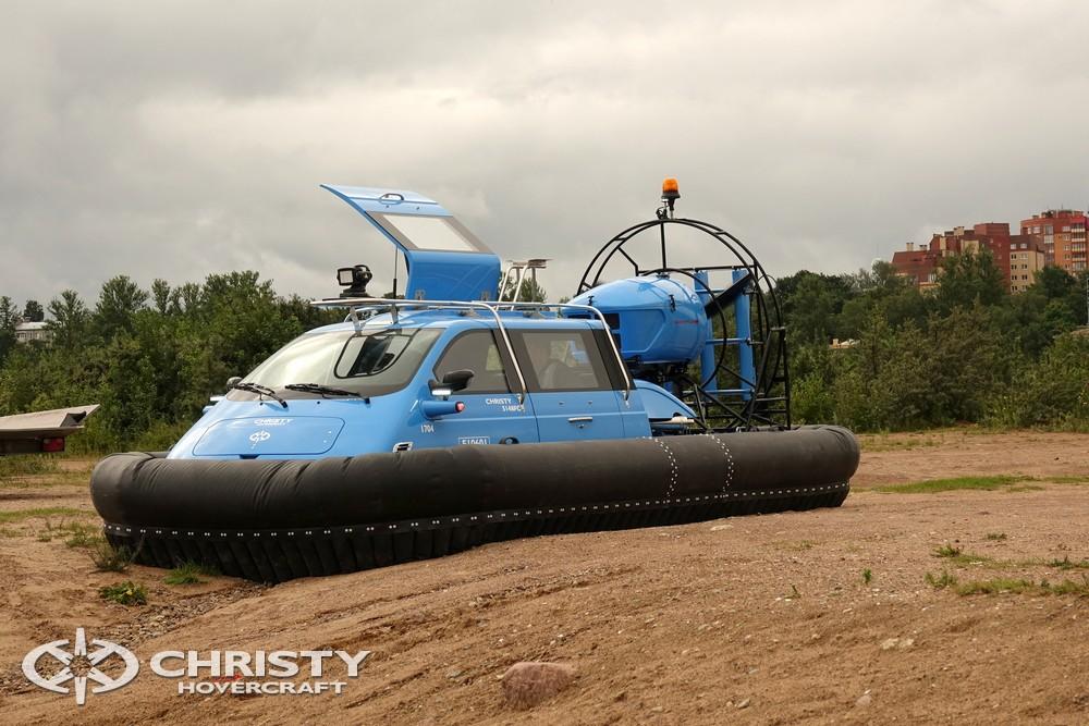 Команда Christy Hovercraft представляет вашему вниманию новый катер на воздушной подушке Christy-5148 | фото №1