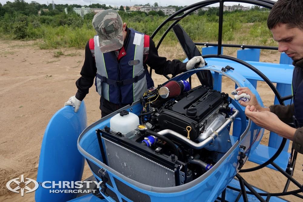 Новый катера на воздушной подушке Christy-5148 отличается повышенной надежностью | фото №6