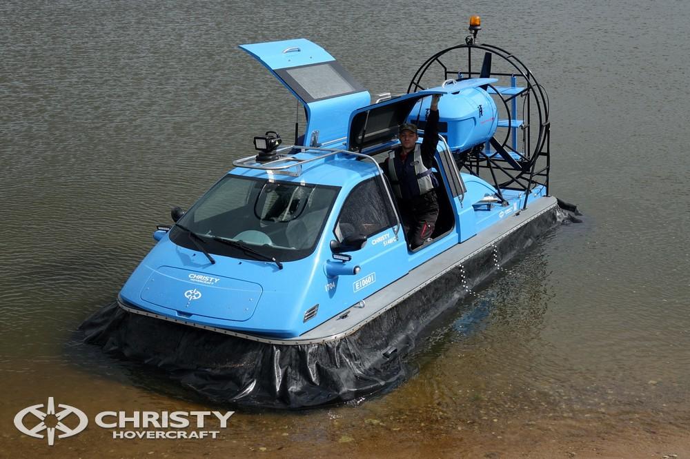 Новое судно на воздушной подушке Christy-5148 отличается повышенной экономичностью | фото №7