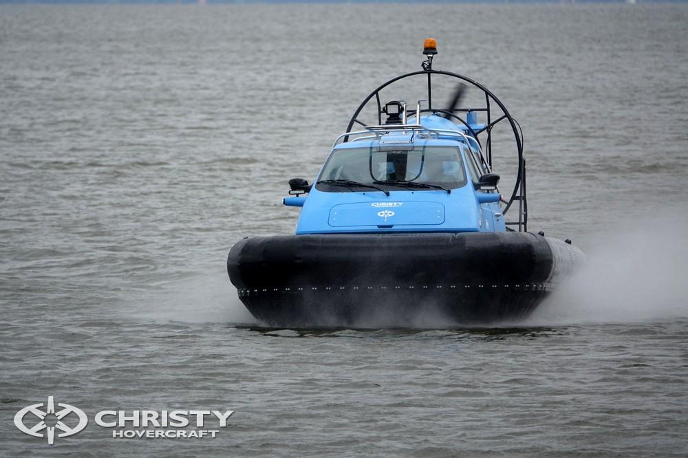 Судно на воздушной подушке Christy-5148 обладает высокой плавучестью | фото №12