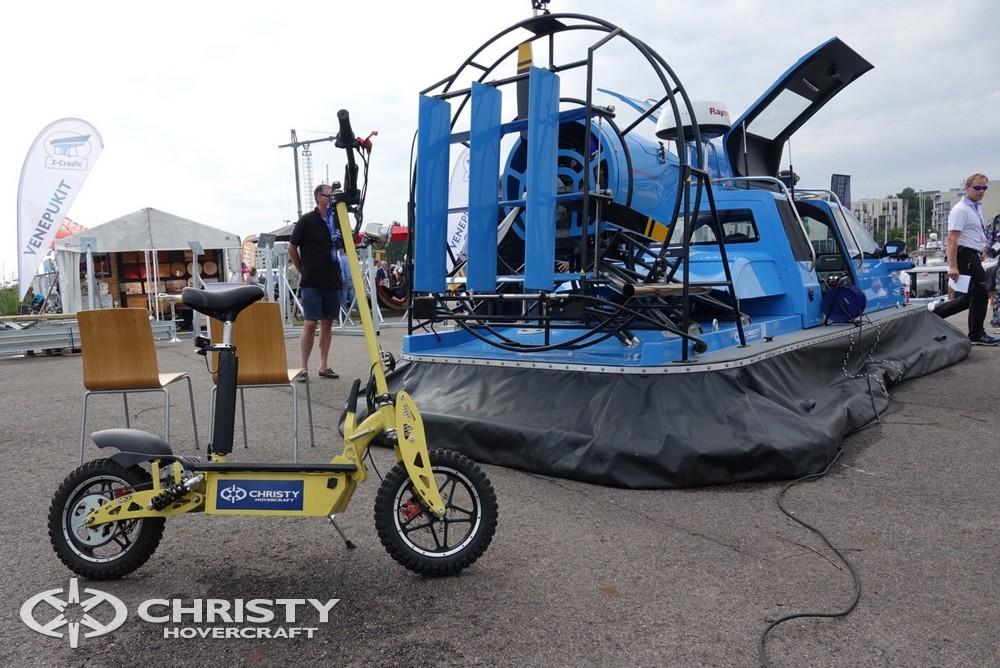 Судно на воздушной подушке Christy-5148 FC представлено на самой крупной выставке судов в Финляндии | фото №2