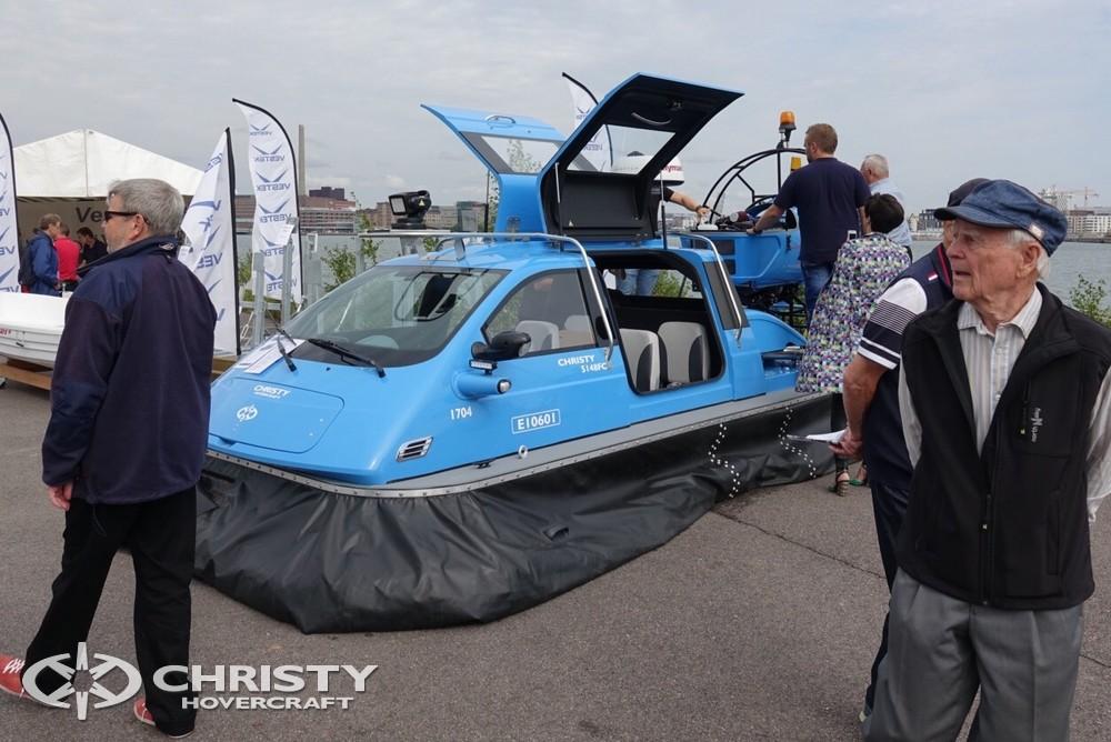Судно на воздушной подушке Christy-5148 FC демонстрируется на выставке, а также парусные яхты и яхтенное оборудование. | фото №6