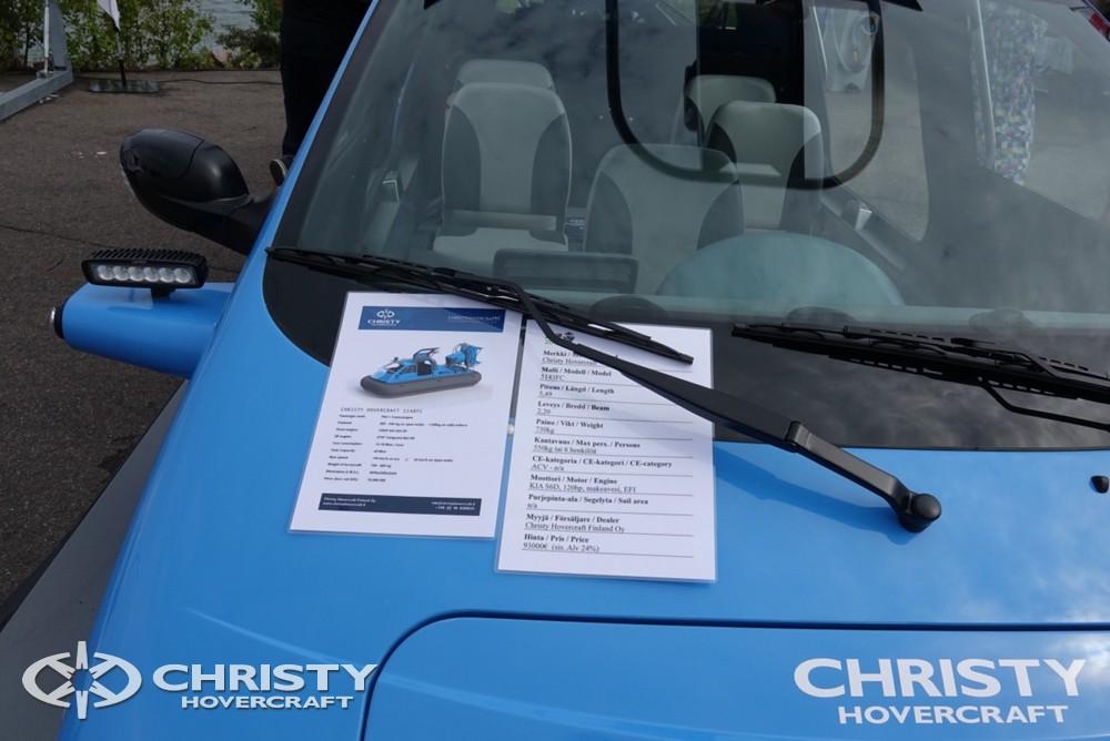 Катер на воздушной подушке Christy-5148 FC - выставка Boat-Afloat Show является самым важным событием года | фото №7