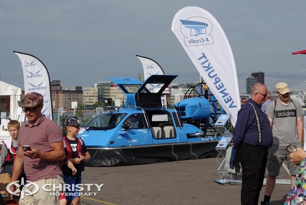 Катер на воздушной подушке Christy-5148 FC - Спешите посетить крупнейшее бот-шоу на воде в Финляндии | фото №16