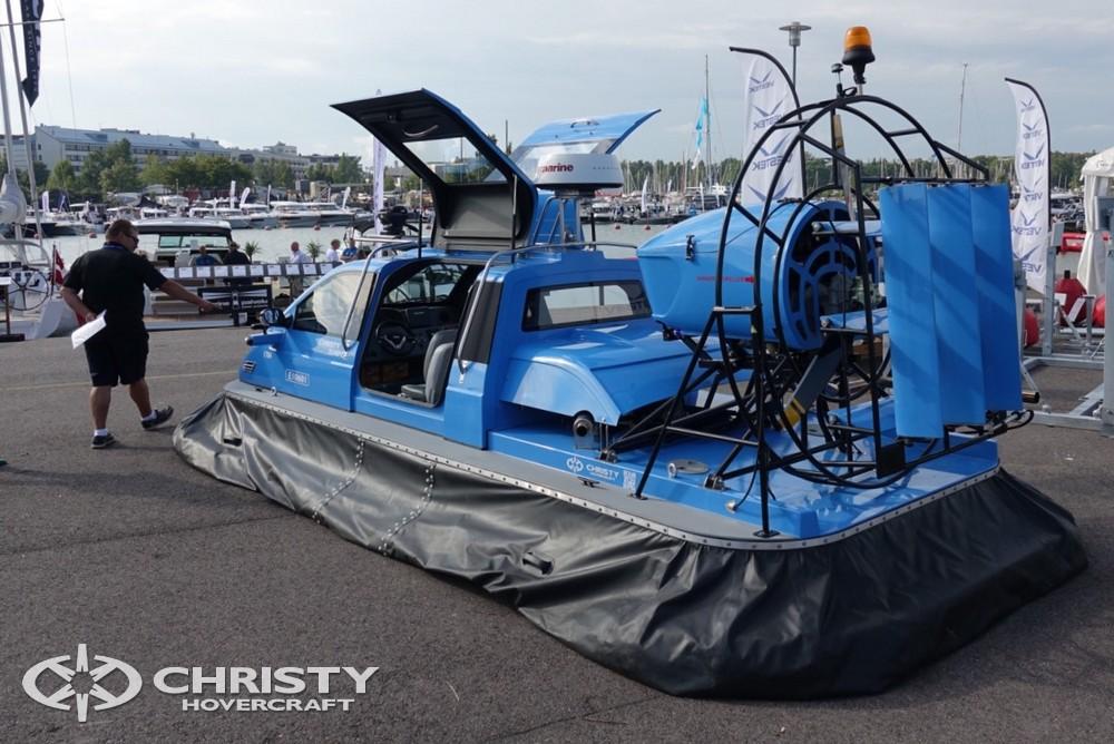 Судно на воздушной подушке Christy-5148 FC представлено на самой крупной выставке судов в Финляндии | фото №20