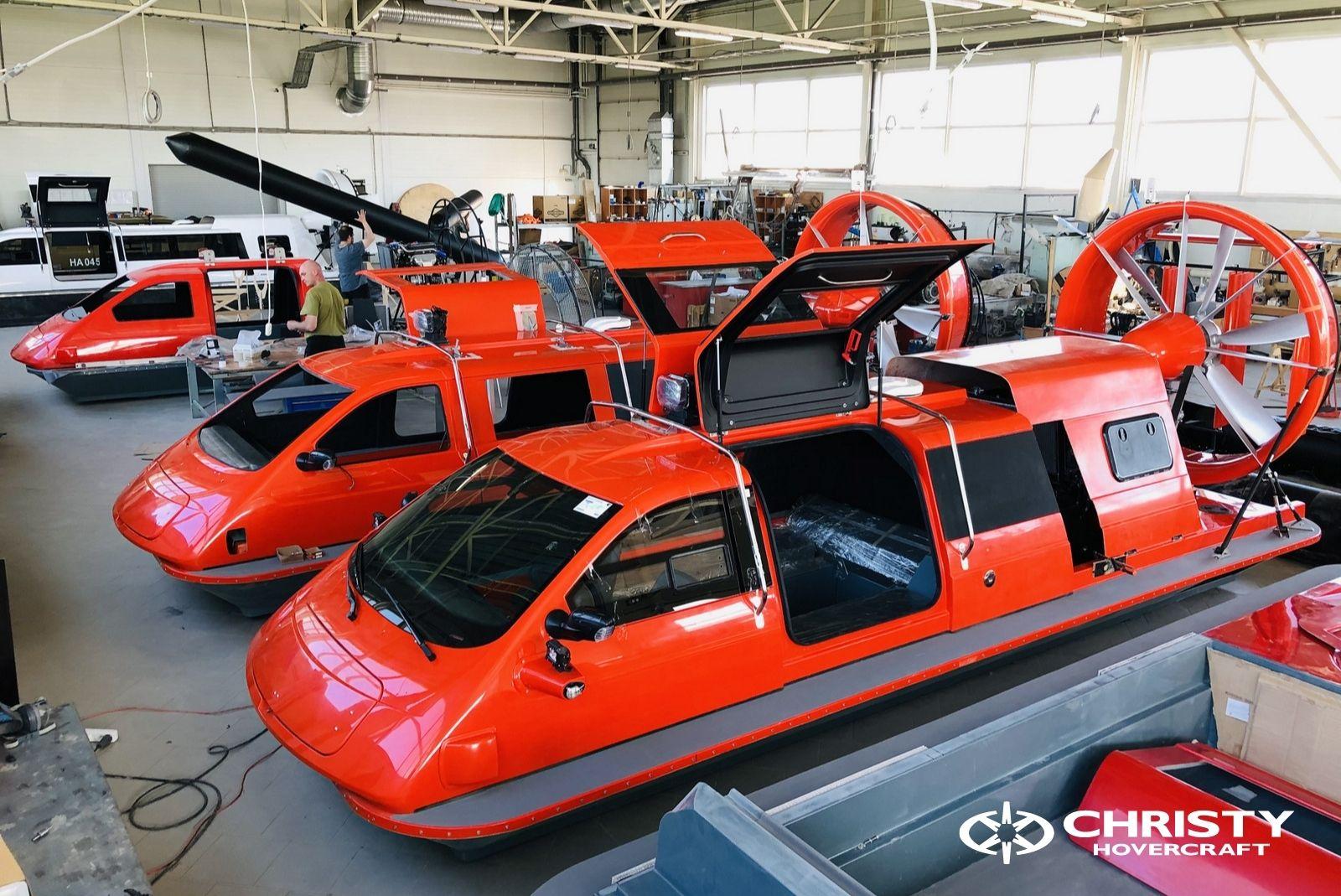 Тест-драйв катера-амфибии Christy 8186 FC Duct для правительства Канады   фото №6