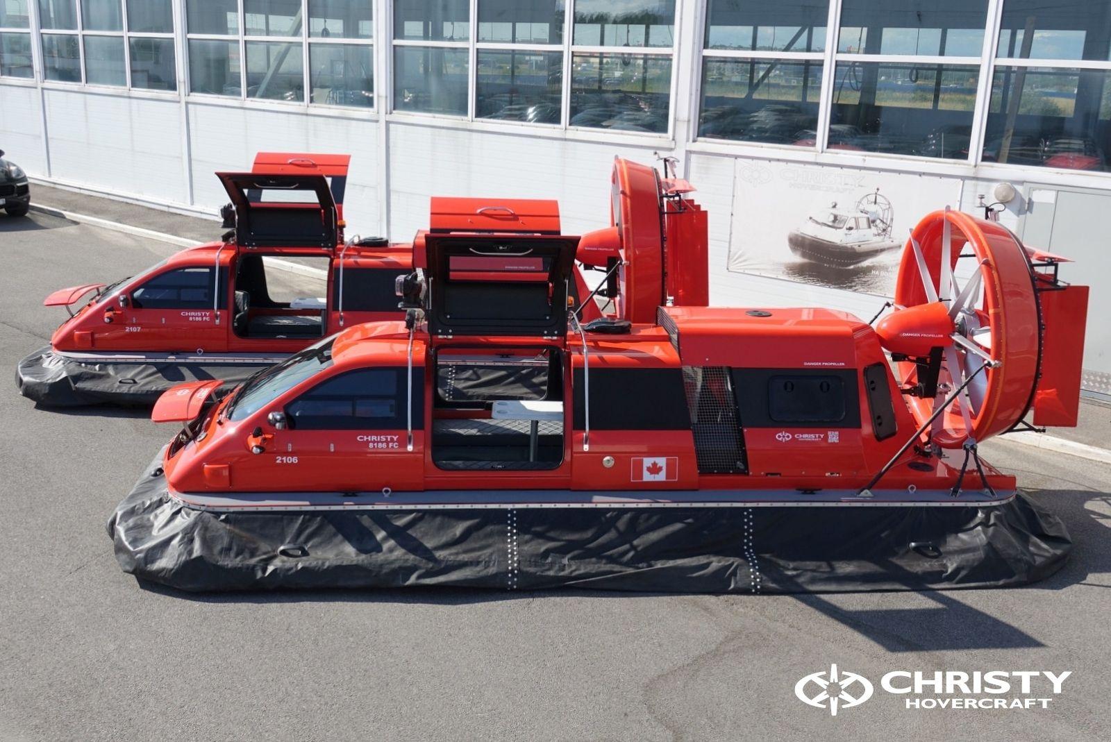 Тест-драйв катера-амфибии Christy 8186 FC Duct для правительства Канады   фото №7