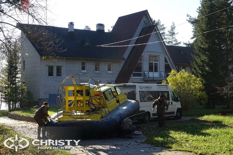 лодка на воздушной подушке Christy 5143. Фото обзор тест-драйва | фото №4