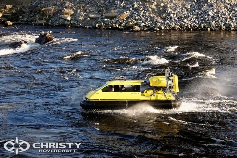лодка на воздушной подушке Christy 5143. Фото обзор тест-драйва | фото №17