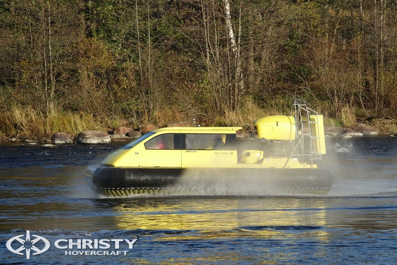 Новое судно на воздушной подушке Christy 5143