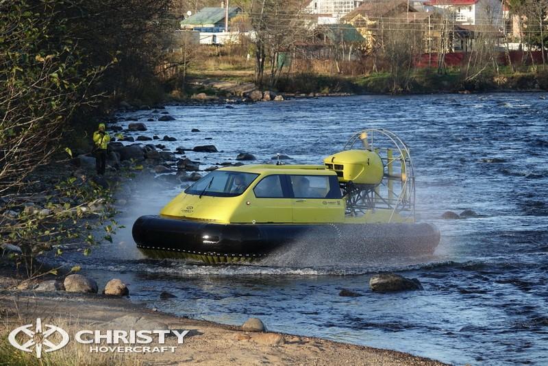 лодка свп Christy 5143. Фото обзор тест-драйва | фото №9
