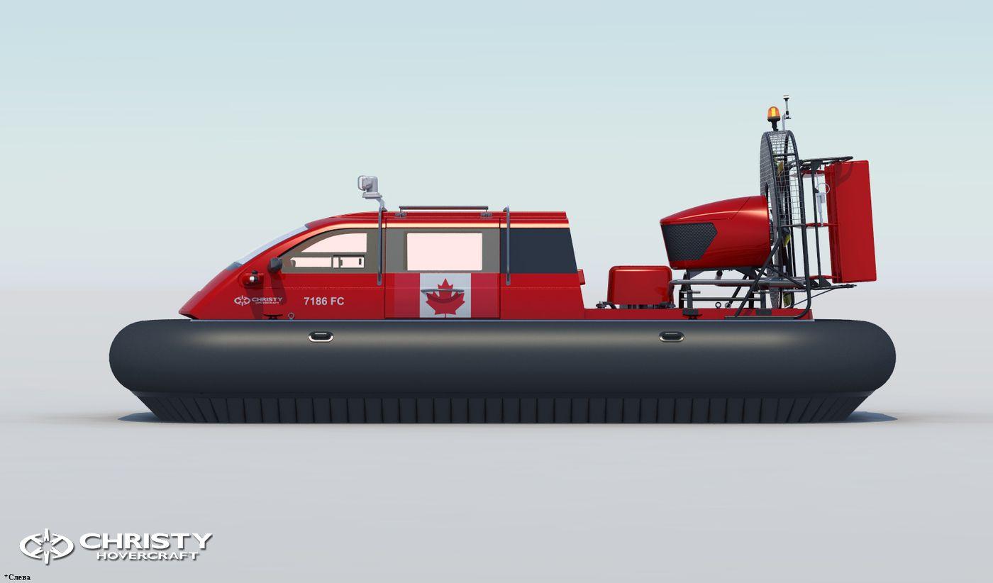 Проект Christy 7186 FC для Канады