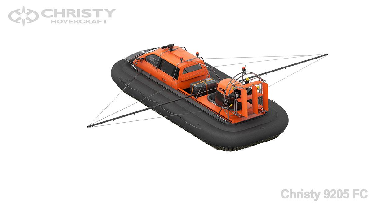Модель катера на воздушной подушке Christy 9205 FC | фото №2