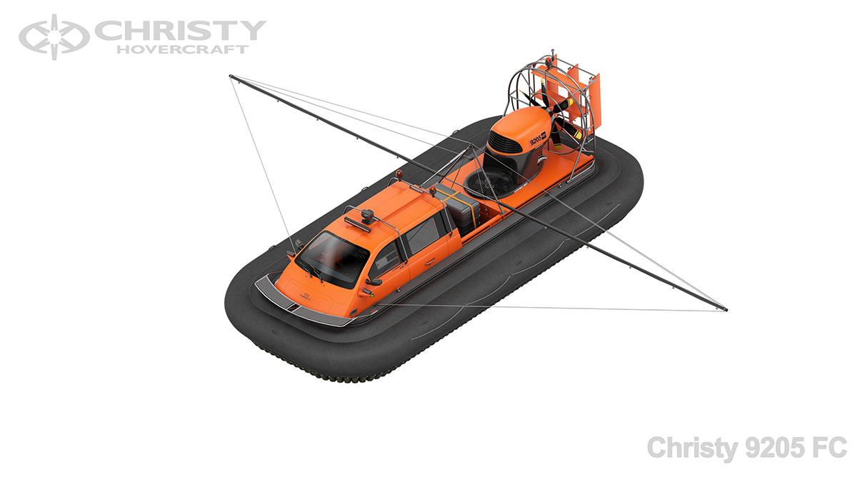Модель судна на воздушной подушке Christy 9205 FC | фото №1