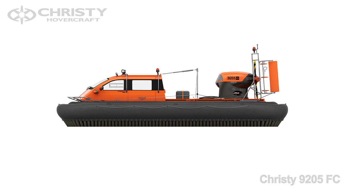 Модель лодки на воздушной подушке Christy 9205 FC | фото №3