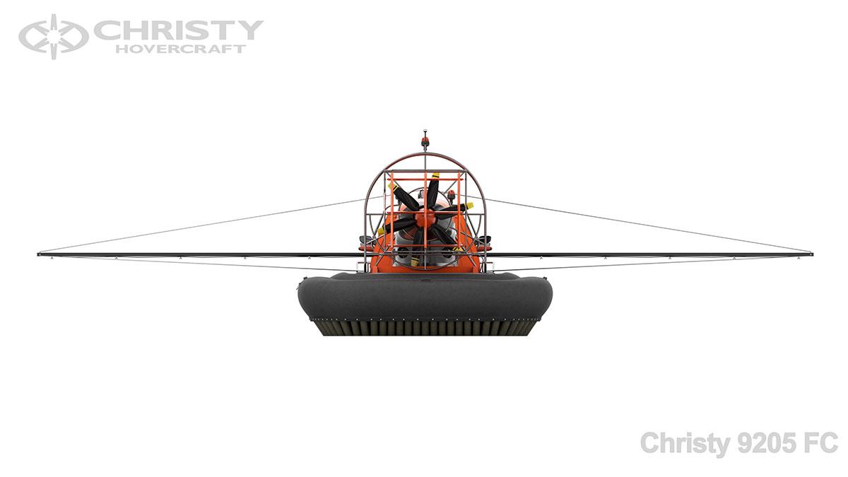 Модель катера амфибии Christy 9205 FC | фото №6