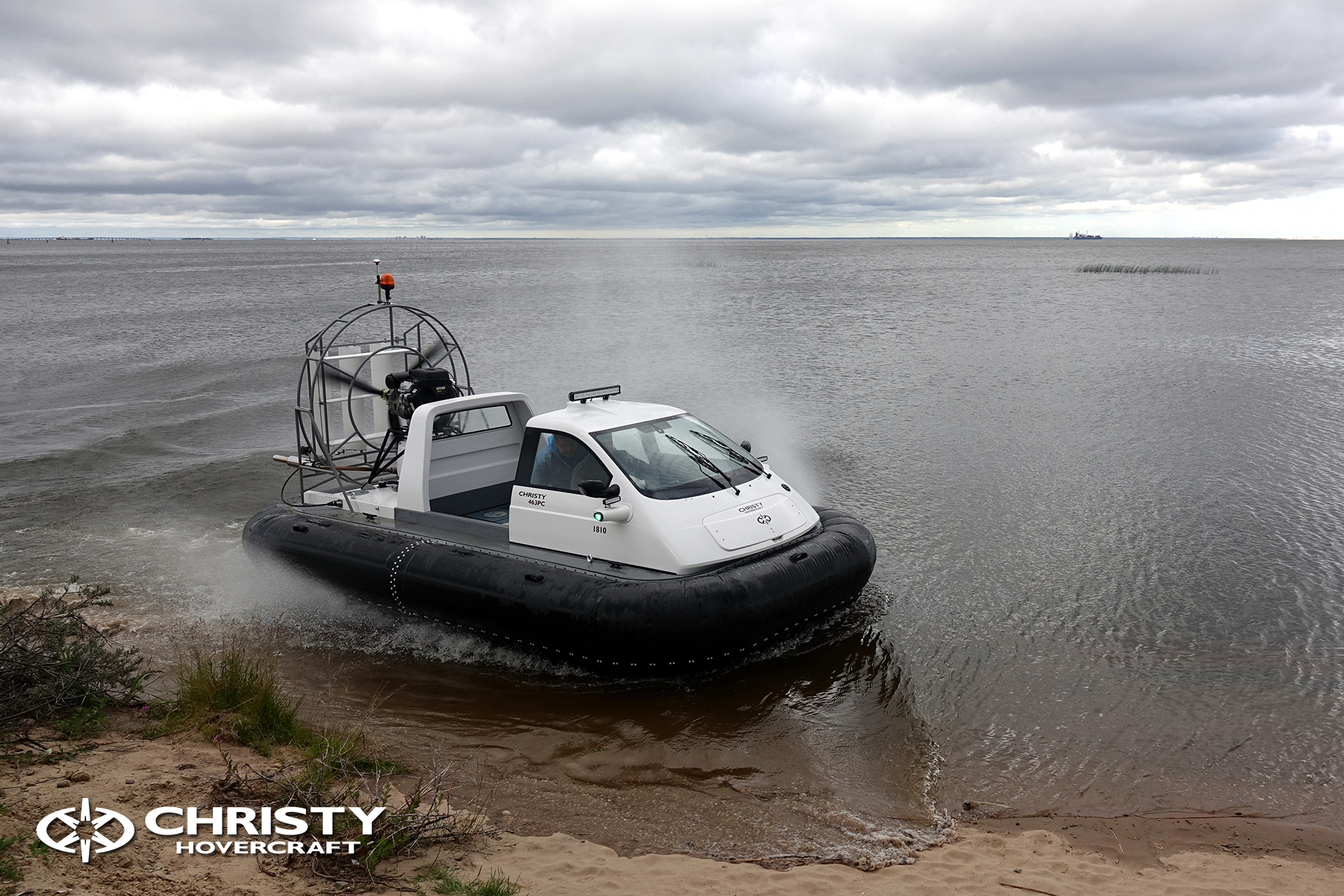 Hovercraft Christy 463 PC in Storm 290618 07.jpg | фото №5