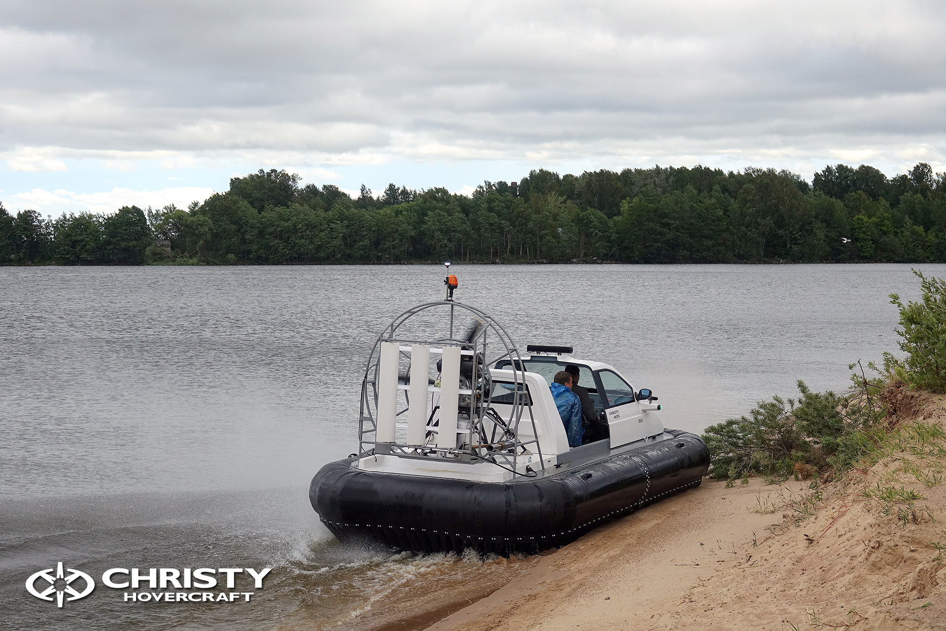 Hovercraft Christy 463 PC in Storm 290618 09.jpg | фото №7