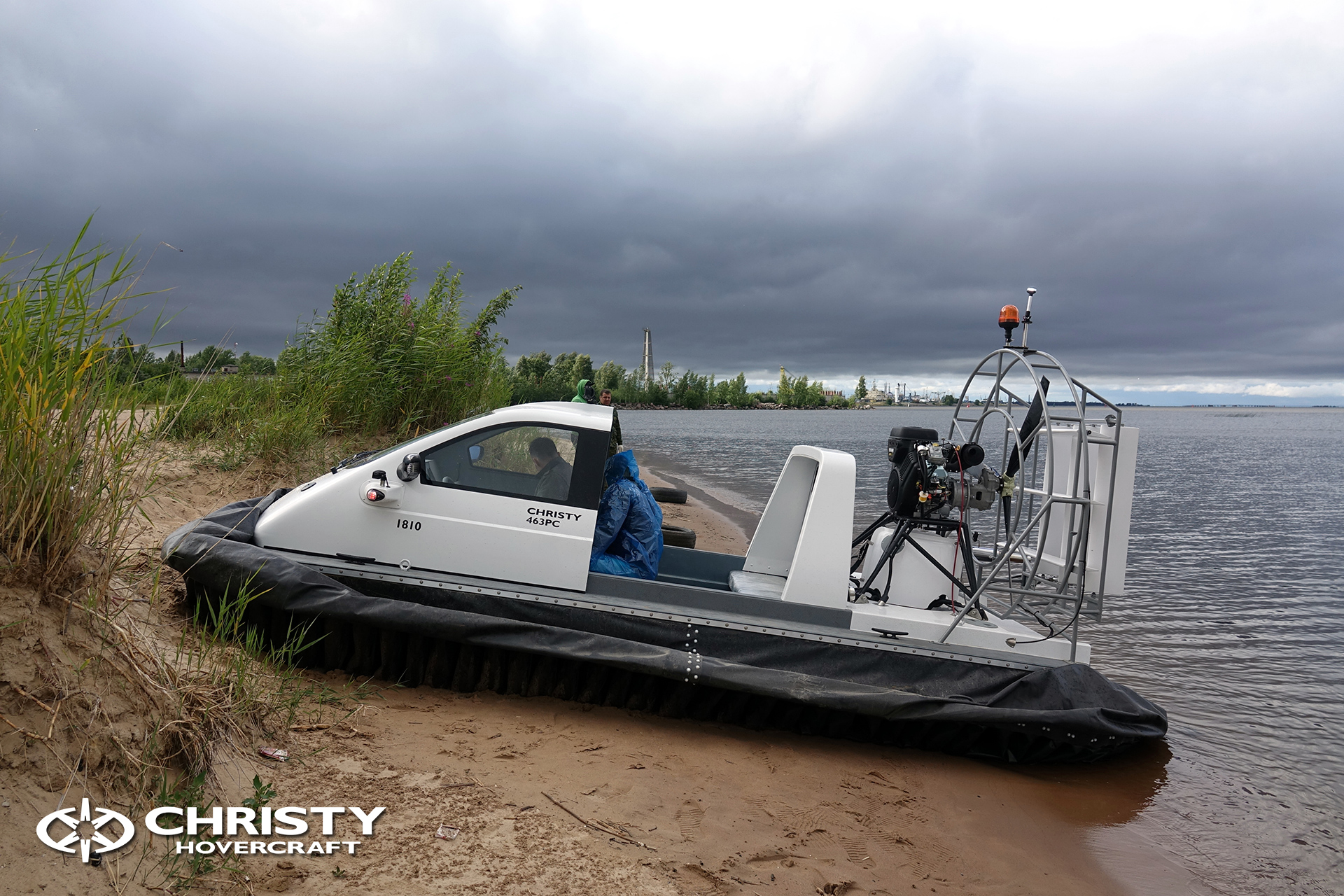 Hovercraft Christy 463 PC in Storm 290618 10.jpg | фото №8