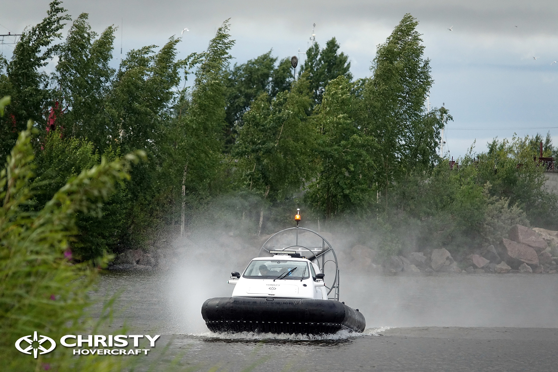 Hovercraft Christy 463 PC in Storm 290618 11.jpg | фото №9