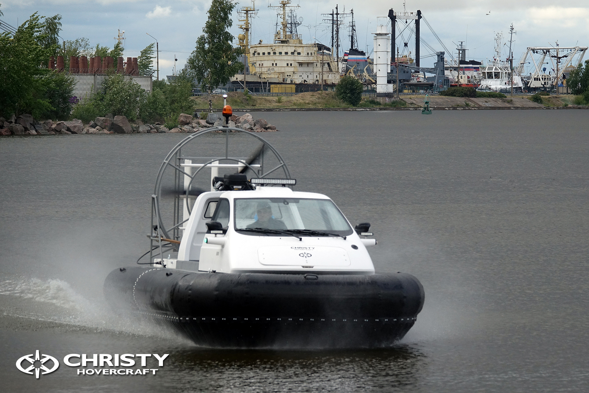 Hovercraft Christy 463 PC in Storm 290618 15.jpg | фото №13