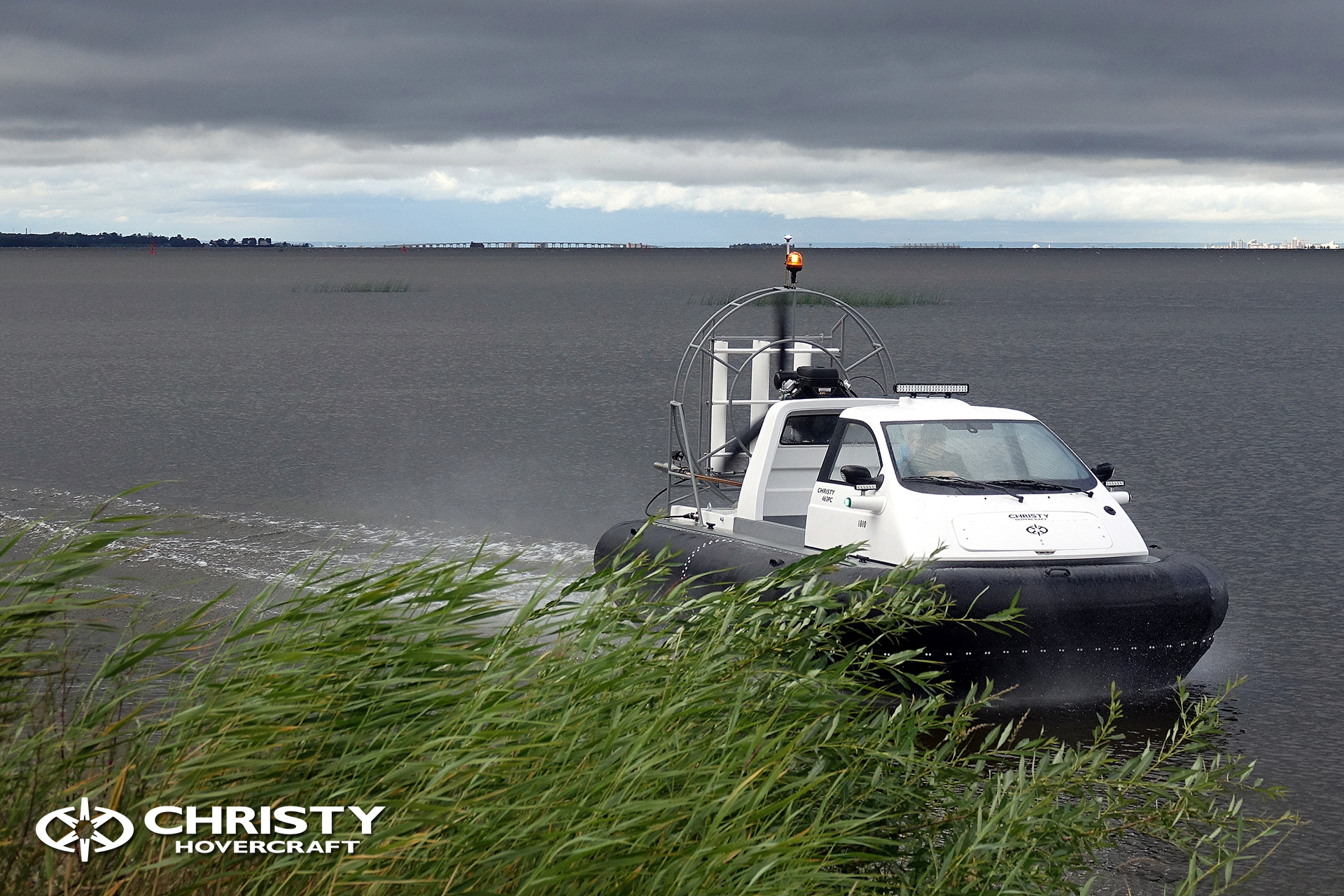 Hovercraft Christy 463 PC in Storm 290618 16.jpg | фото №14