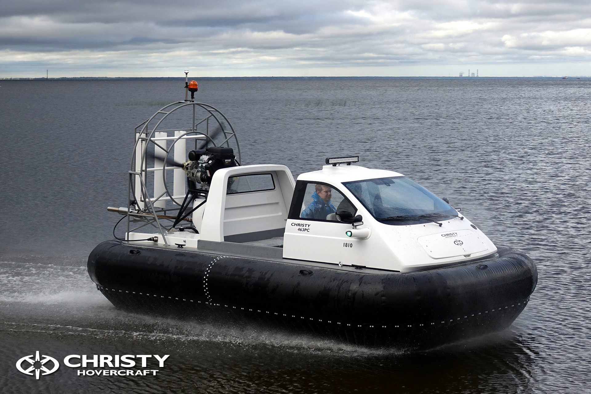 Hovercraft Christy 463 PC in Storm 290618 18.jpg | фото №17