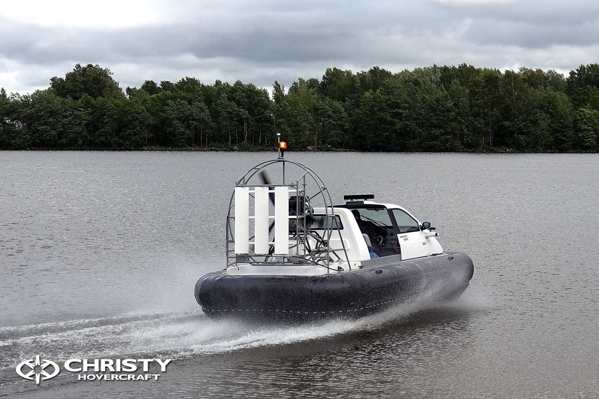 Hovercraft Christy 463 PC in Storm 290618 19.jpg | фото №18