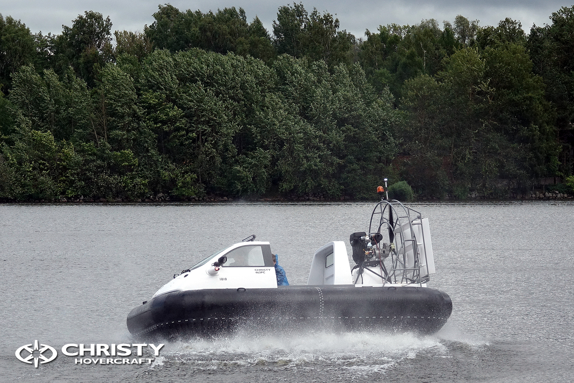 Hovercraft Christy 463 PC in Storm 290618 20.jpg | фото №16