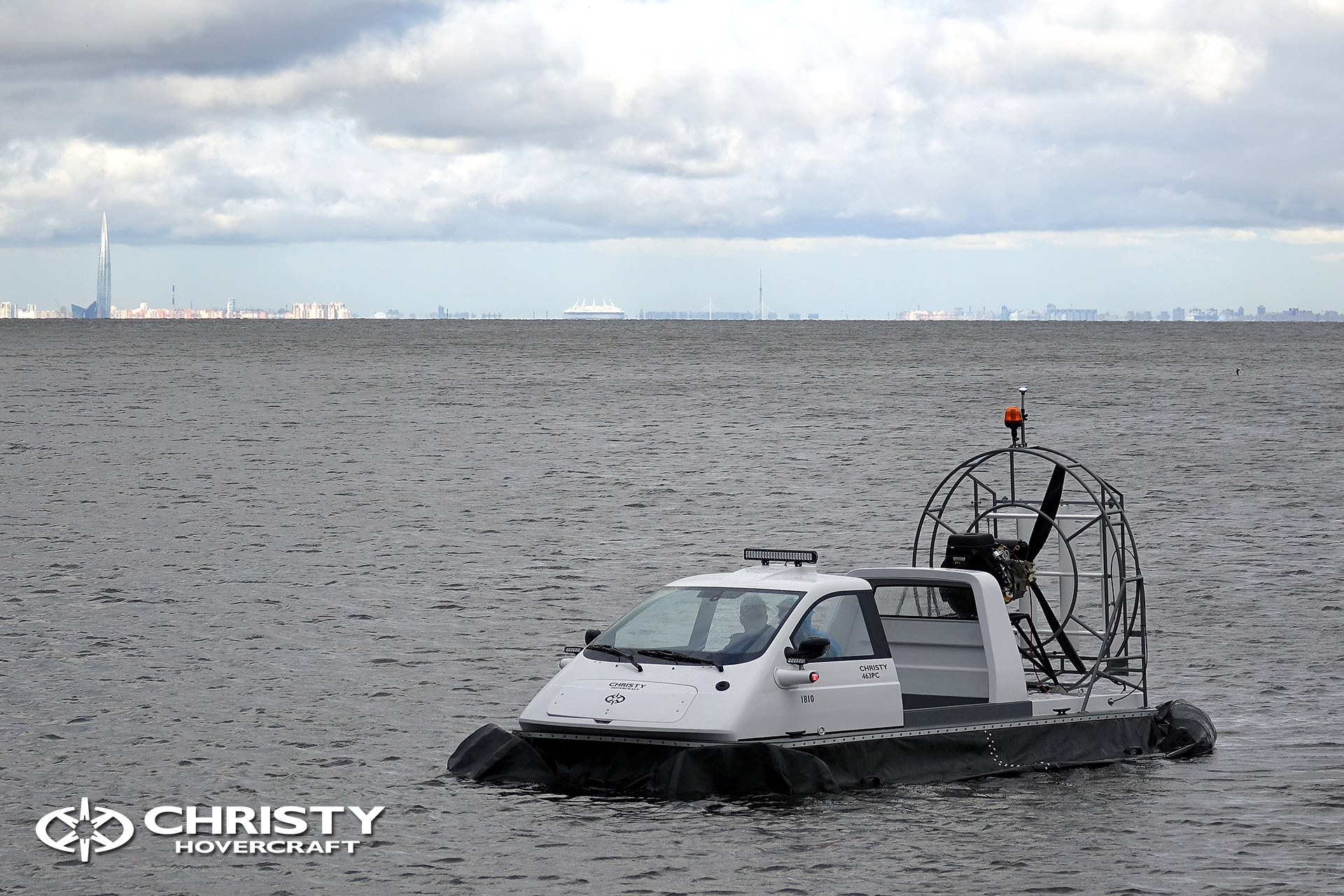 Hovercraft Christy 463 PC in Storm 290618 21.jpg | фото №20
