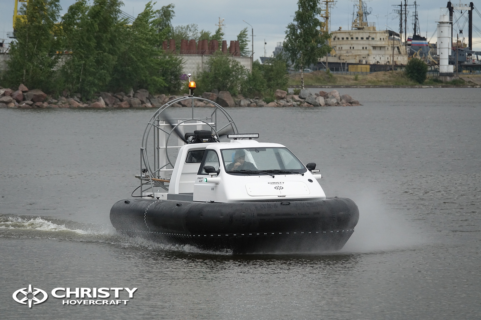 Hovercraft Christy 463 PC in Storm 290618 22.jpg | фото №19