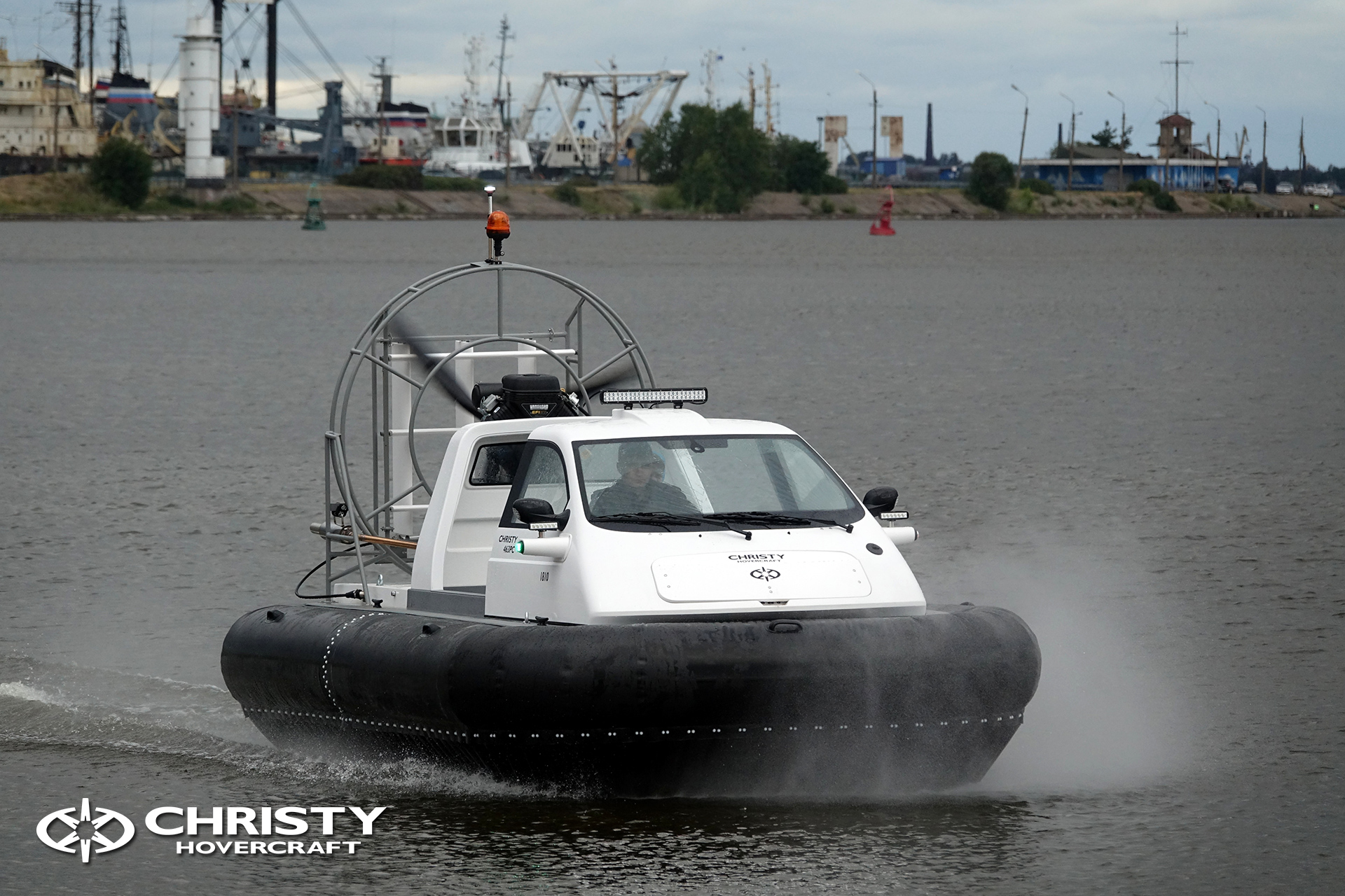 Hovercraft Christy 463 PC in Storm 290618 23.jpg | фото №21