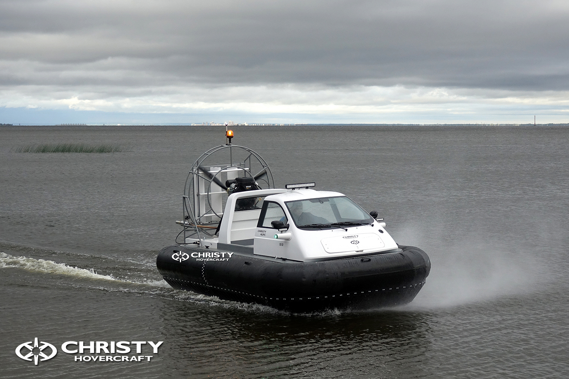 Hovercraft Christy 463 PC in Storm 290618 24.jpg | фото №22