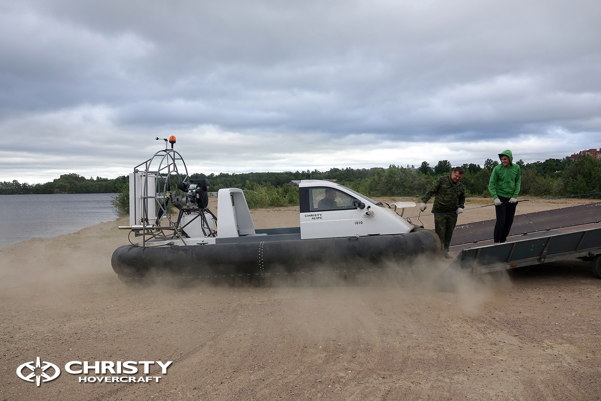 Hovercraft Christy 463 PC in Storm 290618 27.jpg | фото №24
