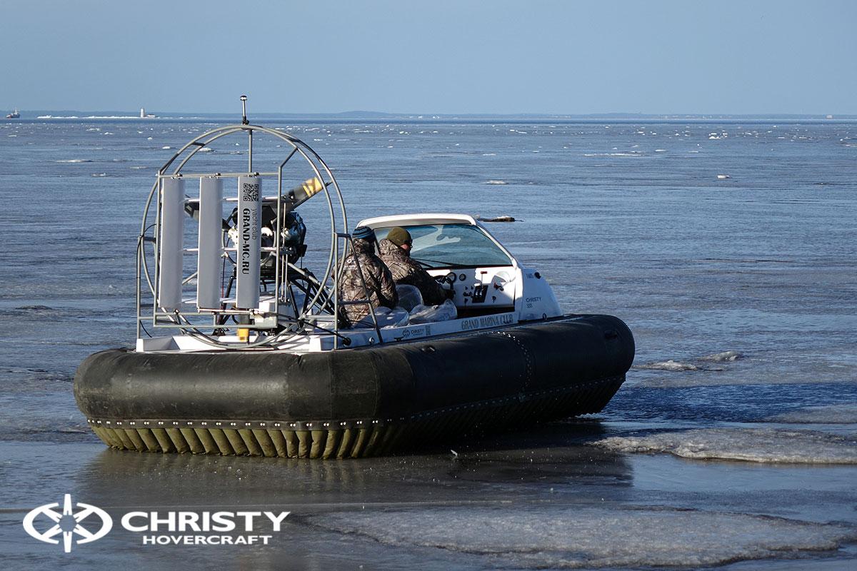 Тест-драйв Christy 458 с открытой кабиной | фото №10