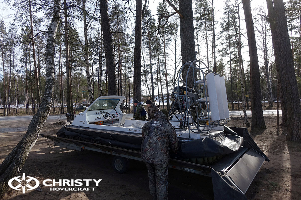 Тест-драйв Christy 458 с открытой кабиной | фото №14